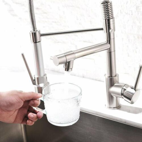Wasserhahn Küche Mischbatterien Pull Down Küchenarmatur mit Spiralfederarmatur
