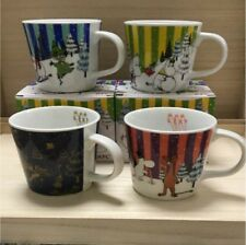Moomin Mug Cup Sold at ONLY KFC Japan Limited Edition Complete Set of 4 RARE