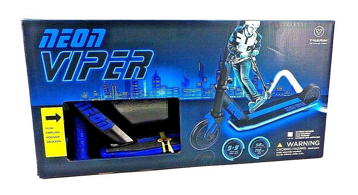 Neon Viper YVolution LED lightup Scooter  9158