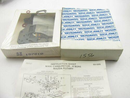 Beck Arnley 162-9542 Carburetor Rebuild Kit 79-85 RX-7 1.1L R2 ONLY