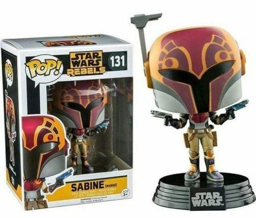 Exclusif Star Wars Rebels Masqué Sabine 9.5cm Figurine Pop Vinyle 131