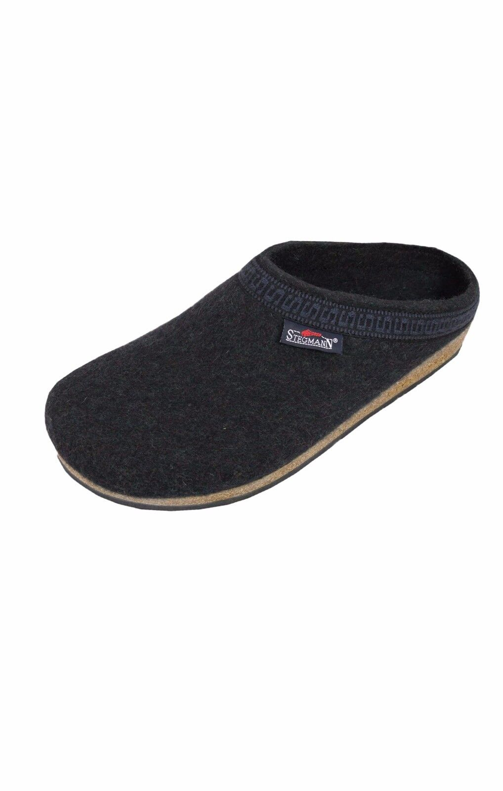 Stegmann Men's Wool Clog - M108 Graphite