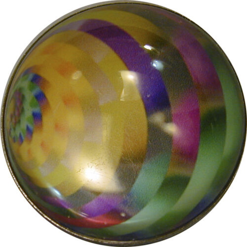 Large Magic Marble Crystal Dome Button #23  FREE US SHIPPING 1 /& 3//8/""
