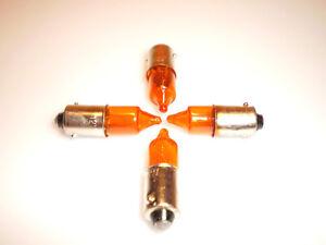 Auto & Motorrad: Teile Verantwortlich 4 X Blinkerbirnen Glühlampe Orange Ba9s 12v 10w Für Blinker Motorrad Quad Roller Beleuchtungen & Blinker