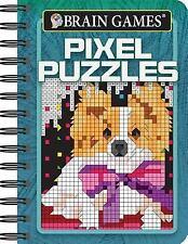 Mini Brain Games Pixel Puzzles (2017, Spiral)