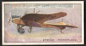German-Etrich-Taube-Monoplane-Avaiton-History-100-Y-O-Trade-Ad-Card