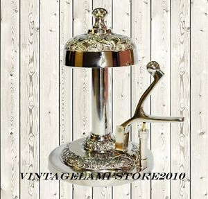 Image Is Loading Victorian Hotel Counter Hand Lever Desk Bell For