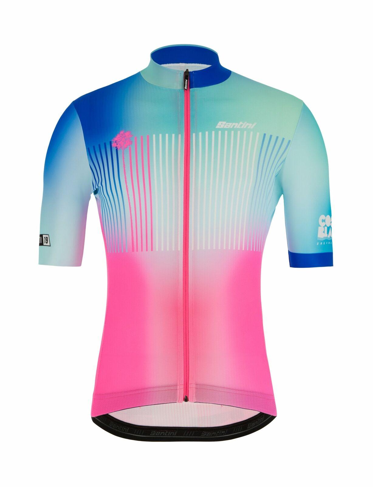 2019 La Vuelta Costa blancoa para Ciclismo Jersey por Santini