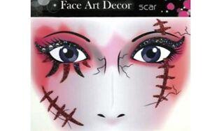 Tatouages-ephemeres-paillettes-noires-et-rouges-cicatrices-tatouages-temporaire