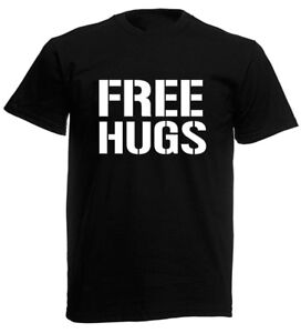 Image Is Loading Free Hugs Mens T Shirt Novelty Joke Birthday