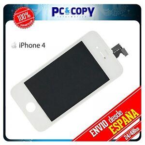 Pantalla LCD + Tactil completa para iPhone 4 4G  Blanco Calidad A++