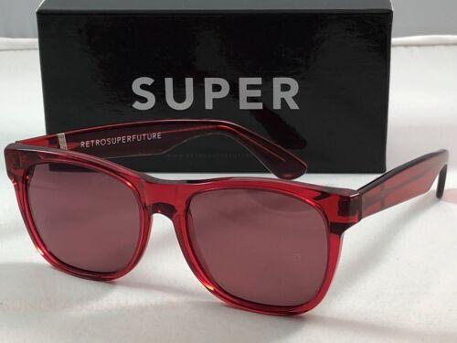 RetroSuperFuture Classic Red 059 Sunglasses SUPER 55mm NIB