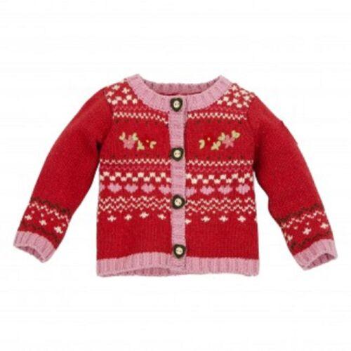 Bondi Baby chica Trachten chaleco chaqueta janker Alpes suerte neu62 68 74 80 86 92 98