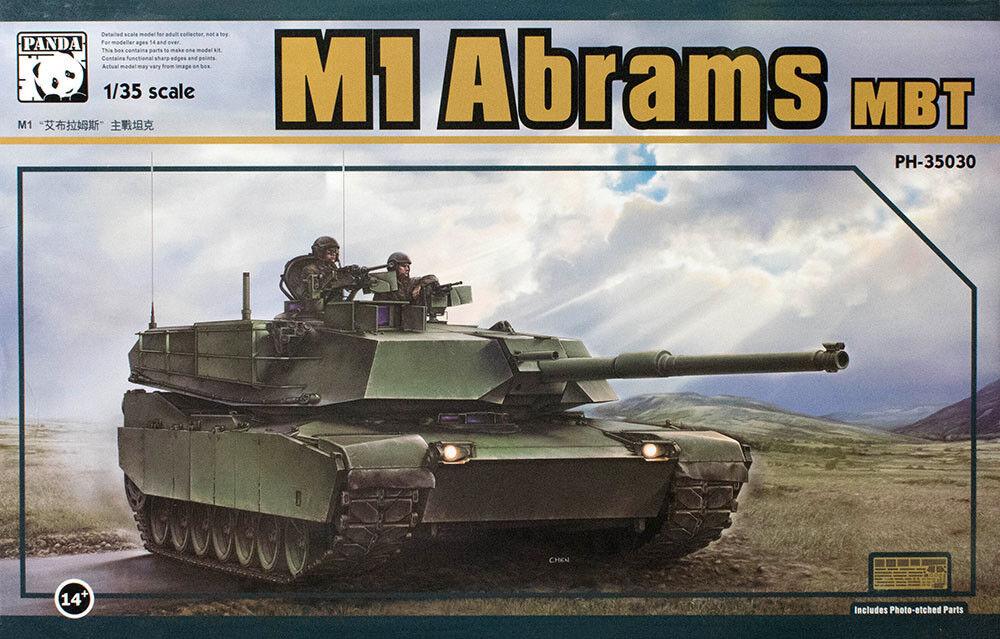 Panda 1 35 M1 Abrams MBT
