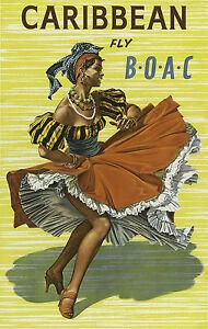 Art Déco Français Voyage Affiche Mural Juan les Quilles 1920s Antibes Vintage
