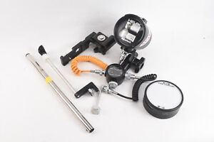 Underwater-Helix-Aquaflash-With-Sensor-Sync-Cord-Brackets-for-Nikonos-WORKS-V23