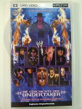 !!! PLAYSTATION PSP UMD Video Geschichte des Undertaker, gebraucht aber GUT !!!