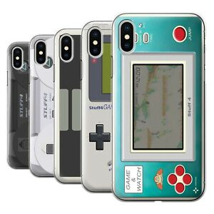 watch 97a6b eee86 Details about STUFF4 Phone Case/Back Cover for Apple iPhone X/10 /Games  Console