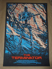 The Terminator Kilian Eng movie poster print Alamo Mondo Mondotees Killian
