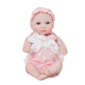 Baby Doll Romper Clothes Headband Set For 11inch Reborn Infant Doll Clothing Ebay