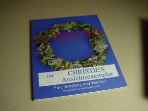 CHRISTIE-S-Amsterdam-Auktionskatalog-Fine-Jewellery-and-Watches-22-11-2000