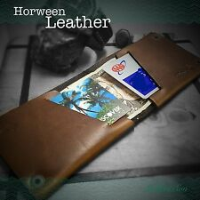 Premium Horween Chromexcel Leather Wallet Handmade in USA