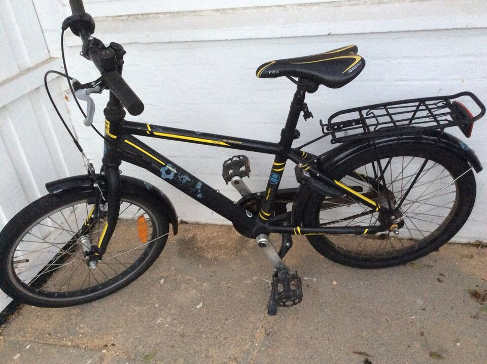 Drengecykel, classic cykel, Everton