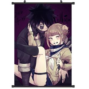 Boku no Hero Academia Dabi Toga Himiko Wall Poster Scroll Home Decor Cosplay