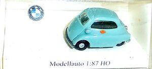 BMW-Isetta-Vert-Clair-imu-Modele-Europeen-H0-1-87-Emballage-D-039-Origine-GB-5-A