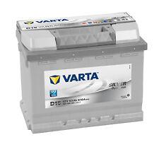 Batterie voiture Varta Silver Dynamic D15 12V 63Ah 610A 242x175x190mm