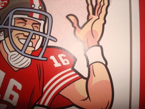 QB Montana poster print San Francisco 49ers Vtg
