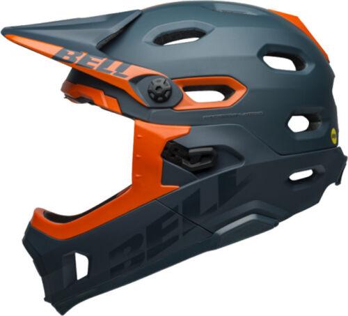 Bell Super DH Full Face MIPS Bike Helmet Matte//Gloss Slate//Orange