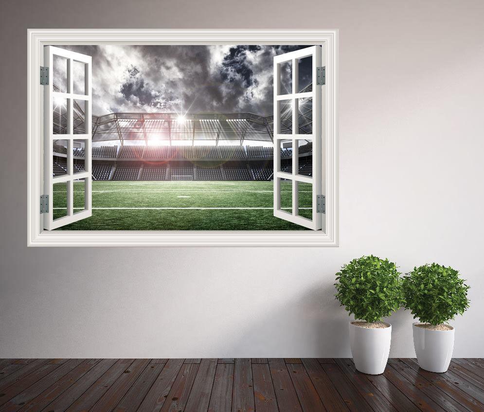 Awesome Photo Stade de Football  s Chambre à à à Coucher Garçons Fenêtre 1f3434