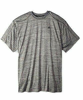 RUSSELL ATHLETIC Mens Heather Crew SS Dri-Power Tee Big /& Tall 290171RM