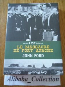Estuche-Coleccionista-2-DVD-Massacre-Fuerte-Apache-Wayne-Fonda-Ford-VF