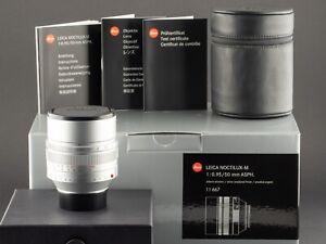 Leica-M-Noctilux-50mm-0-95-11667-silber-vom-22-08-17-FOTO-GORLITZ-Ankauf-Verkauf