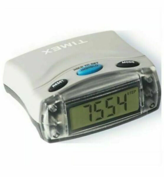 Timex Pedometer T5E021 Counts Steps Speed Distance ...