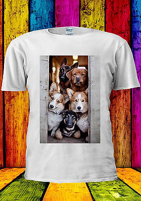 Gutherzig Mob Of Dogs Mobster Animal Funny T-shirt Vest Tank Top Men Women Unisex 1069