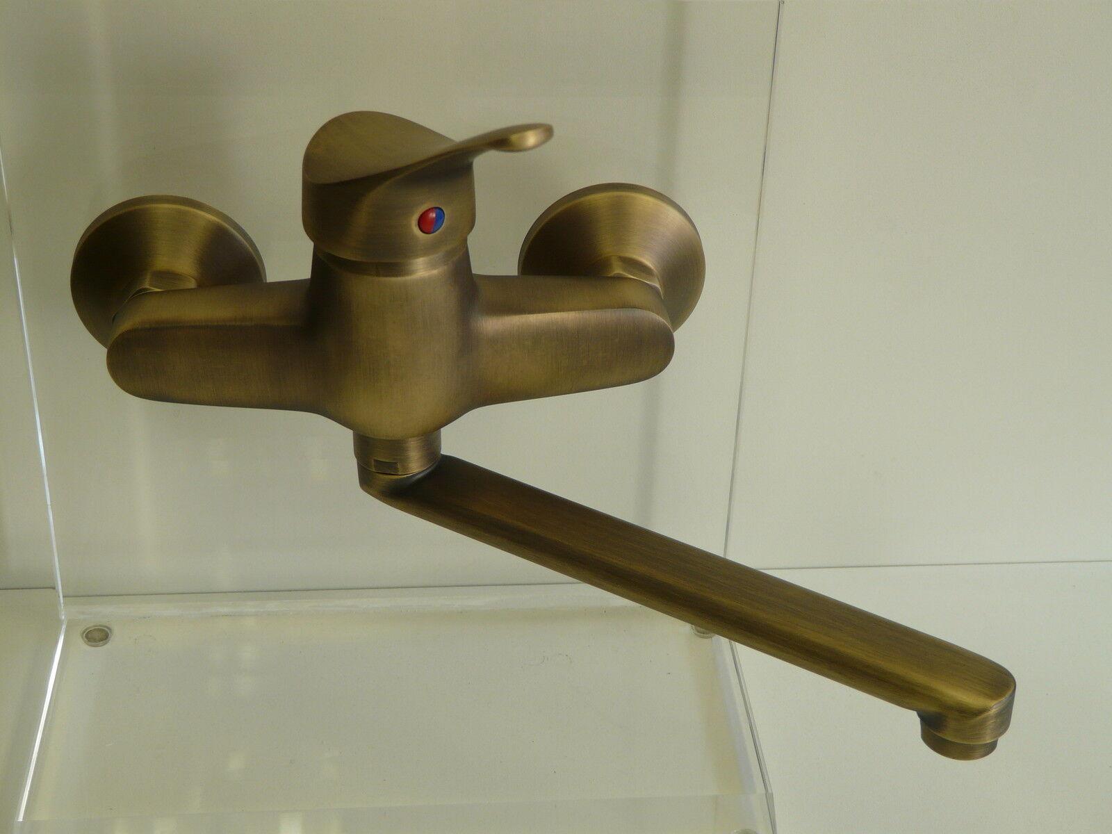 Küchenarmatur Bronze, Wandarmatur, Wandküchenarmatur,