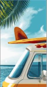 Mainstays 100/% Cotton Surf Beach Towel