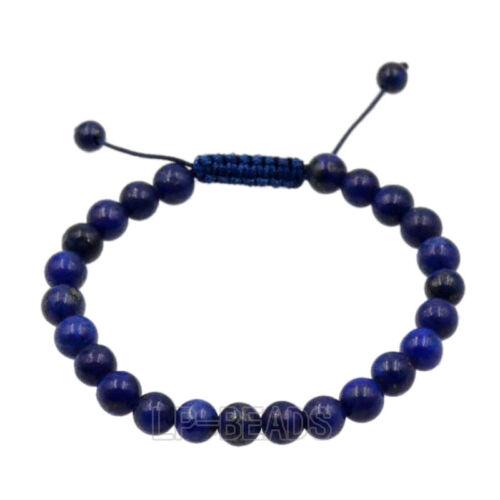 Men/'s 8mm Natural Gemstone Beads Shamballa Yoga Mala Beaded Jewelry Bracelet