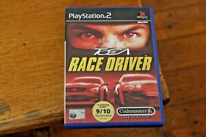 TOCA-Race-Driver-Sony-Playstation-2-PS2-Game-VGC-with-Manual-Driving-Racing