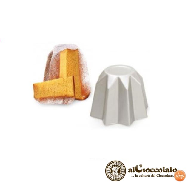 STAMPO PANDORO ALLUMINIO ANODIZZATO MISURE VARIE Cake Design Pasticceria Natale
