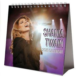 Shania Twain Tour 2020.Details About Shania Twain Desktop Calendar 2020 New Free Gift 3 Stickers