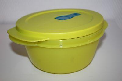 Tupperware MicroTup Crystal-Wave Mikrowellengeschirr Mikro-Fix Neu 400 ml gelb