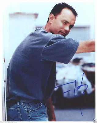 Temperate Tom Hanks. Charning Two-time Oscar Winning Actor Signed Skilful Manufacture