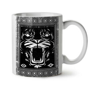 Face Beast Animal NEW White Tea Coffee Mug 11 oz   Wellcoda
