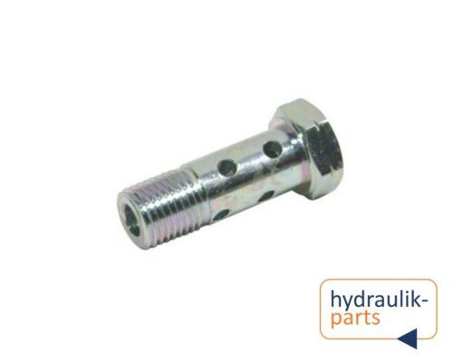 Hydraulik Hohlschraube M8 doppelt