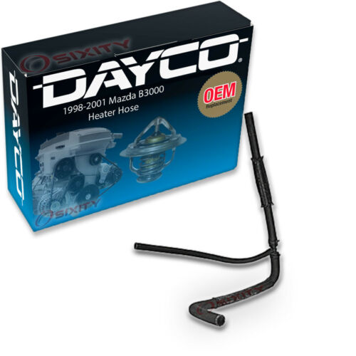 Dayco Heater Inlet Assembly HVAC Heater Hose for 1998-2001 Mazda B3000 ow