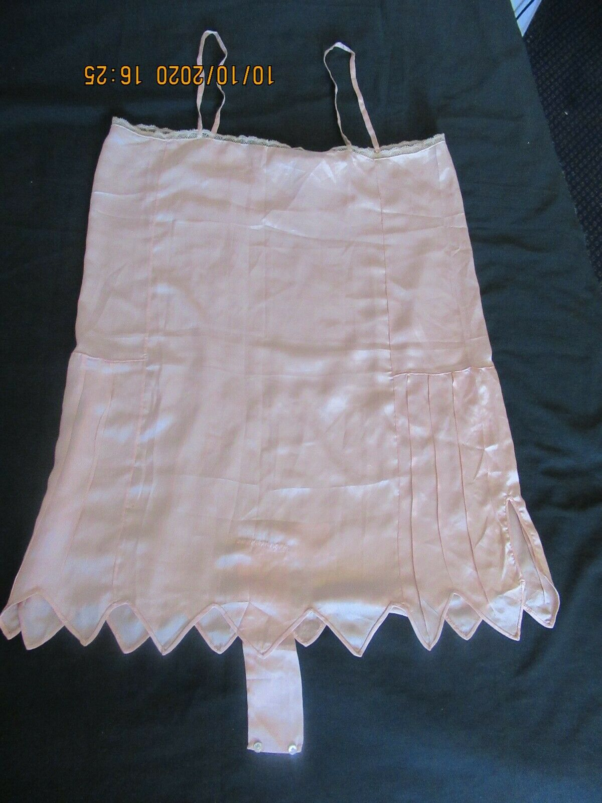 Antique Edwardian Camisole Teddy Embroidered Lace  - image 12